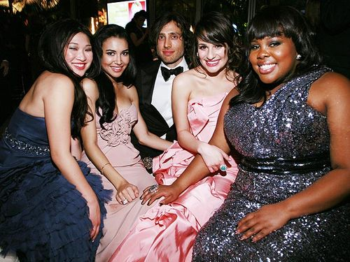 Glee Golden Globe People.com 2010